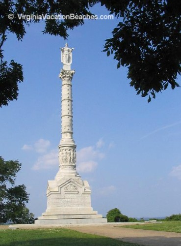 Yorktown Monument - Interesting Virginia Vacation Attraction