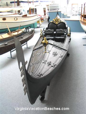 Cast Iron Boat - Mariners Museum - Virginia