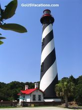 USA Beaches - Florida St Augustine Lighthouse - St Augustine Vacations